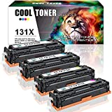 Cool Toner 4 Packs Compatible 131A 131X for HP...