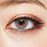O-LENS Russian Velvet Gray - Coloured Contact Lens(Monthly) - 1 Pair(2pcs)