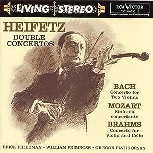 Jascha Heifetz - Double Concertos [Import allemand]