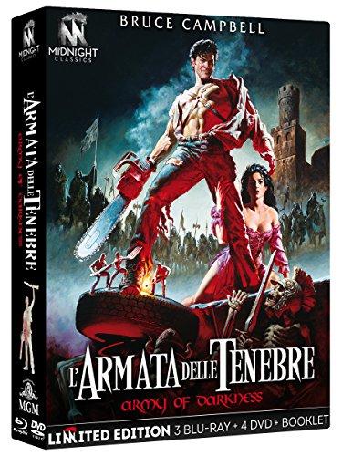 L' Armata Delle Tenebre  (Limited Edition) (3 Blu-Ray+4 Dvd+Booklet)