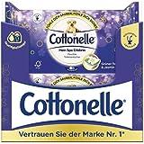 Cottonelle Papel higiénico húmedo, Mein Spa experiencia, té verde y jazmín, biodegradable, reutilizable, 12 paquetes de 44 to