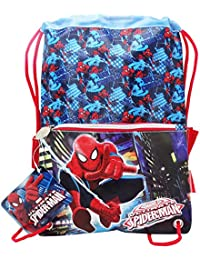 Marvel Spider-man Ultimate Saco Mochilla Bolso Escolar