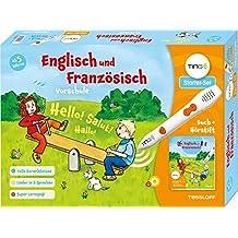 TING Starterset Englisch und Französisch lernen: Buch + Hörstift! Lieder in 3 Sprachen (TING - Spielen, Lernen, Wissen)