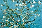 1art1 Vincent Van Gogh - Ramo di Mandorlo in Fiore, 1890 Poster Stampa Geante XXL (120 x 80cm)