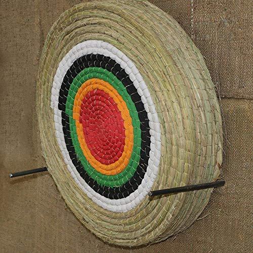 Wuudi Arrow Target Straw Single Layer Round für Recurve Armbrust Jagd Schießen Spiel Übungsziele