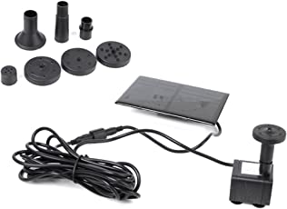 Generic Imported Solar-Powered Brushless Pump Kit For Rockery Fountain Garden Water Pond