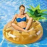 WYD Aufblasbare Ananas Schwimmring Faltbare Erwachsene Schwimmende Reihe Schwimmenden Wasser Montiert