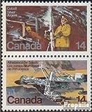 Prophila Collection Kanada 689-690 Paar (kompl.Ausg.) 1978 Bodenschätze (Briefmarken für Sammler)