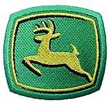 Produkt-Bild: John Deere Ball Cap Shirt Yellow/Green Embroidered Patch