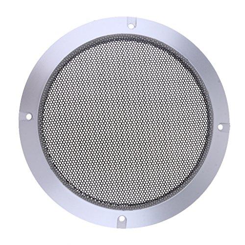 Baoblaze Metall silber Auto Audio Lautsprecher Subwoofer Schutzgitter Abdeckung, 4 Zoll/5 Zoll/6,5 Zoll/8 Zoll/10 Zoll - 6,5-Zoll (6-zoll-subwoofer-lautsprecher-grill)