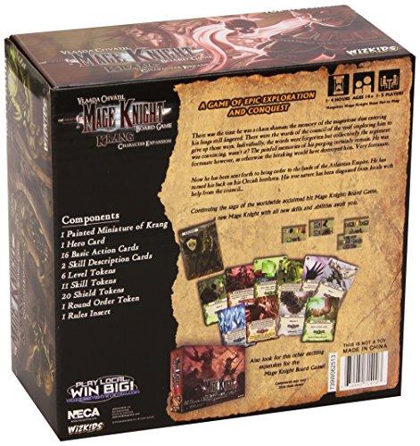 Mage Knight: Krang Character Expansion - Juego de mesa, de 1 a 5 jugadores (Wiz Kids WZK71400) (versión en inglés)