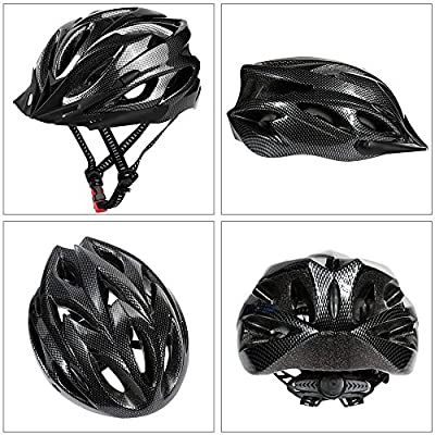 Hoovo Bicycle Helmet With Adjustable Lightweight Mountain Bike Racing Helmet for Men and Women by Hoovo