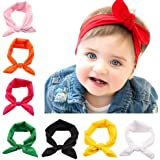 Skudgear Pack of 8 Baby Headbands Cute and Stylish