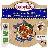 babybio Douceur de panais et carotte-riz, dès 12 mois, certifié AB ( Prix unitaire ) - Envoi Rapide Et Soignée