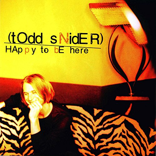 Happy to Be Here (Todd Snider-cd)