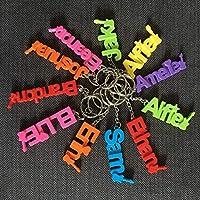 Personalised 3D Printed Key ring, School Bag, Custom Keyring