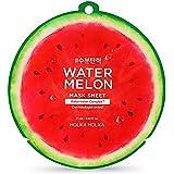 Holika Holika Water Meloen Maskerplaten 10 stuks met Water Meloen Hoofd Band voor Gezicht Was 25ml/0.84oz,watermeloen Complex