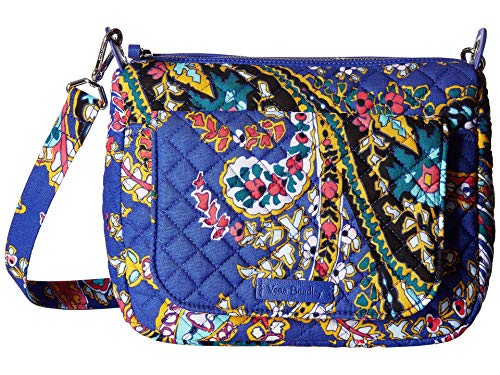 Vera Bradley Women's Carson Mini Shoulder Bag Romantic Paisley One Size - Leder Bradley Handtaschen Vera Aus