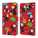 Official Felix The Cat Patterns Comic Book Capers Leather