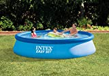 Intex Easy Set Pool Set, blau, 396 x 396 x 84 cm, 7,29 L, 28142GN