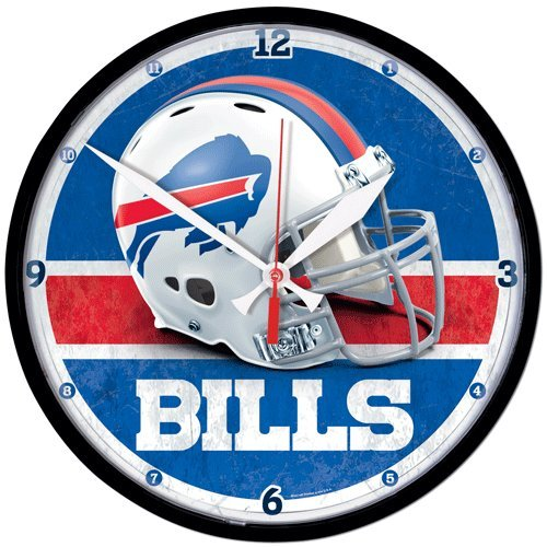 WinCraft Buffalo Bills Helmet American Football NFL Wanduhr