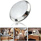 Lumière intérieure de voiture DC 12 V 46 LED plafonnier plafonnier plafonnier lampe d'intérieur avec interrupteur marche/arrê