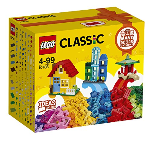 LEGO Classic - Caja del constructor creativo, multicolor (10703)