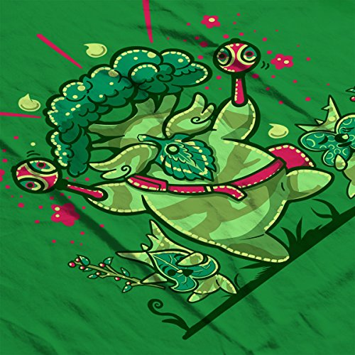 Shalaka Dance A Breath Of The Wild Legend Of Zelda Women's T-Shirt Kelly Green