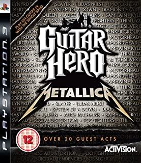Guitar Hero: Metallica - Game Only (PS3) (B001TOD34G) | Amazon price tracker / tracking, Amazon price history charts, Amazon price watches, Amazon price drop alerts