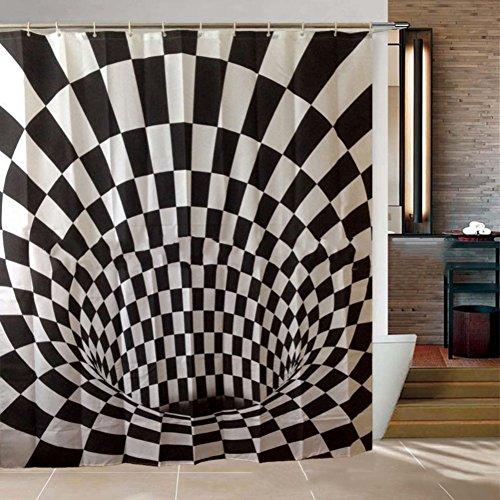ner mehltau resistente,Wasserdichte dusche vorhänge stoff Liner Für bad kinder Lustig-A 71x71inch ()