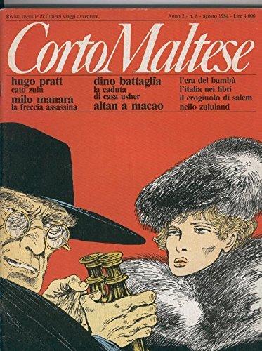 Corto Maltese anno 2 numero 08, agosto 1984