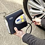 Ring RAC600 Digital Tyre Inflator, 12V Air Compressor Tyre Pump, 3.5 Min Tyre Inflation, LED Light, Valve Adaptors Bild 3