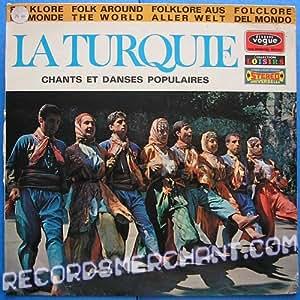 la turquie - chants et danses populaires LP