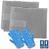 Spares2go universel kit de filtre à graisse pour hotte de cuisine pour extracteur d'air Grille d'aération