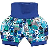 Lilakind Kurze Kinder-Hose Baby Shorts Buxe Sommerhose Monster Gr. 74/80- Made in Germany