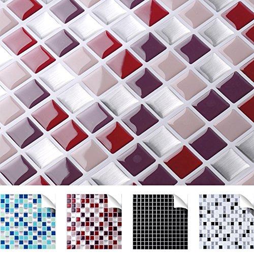 grandora-w5193-selbstklebende-3d-mosaik-fliesenaufkleber-verschiedene-farben-und-grossen-fliesendeko