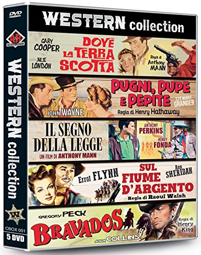 western collection (box 5 dvd)