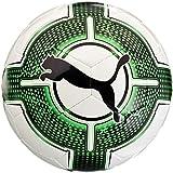 PUMA EvoPower 1.3 Futsal FIFA App Fußball, White-Green Gecko Black, 4