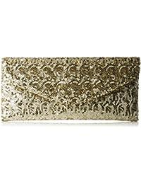 L.Credi Damen Dancing Queen Umhängetasche, Gold (Gold), One Size