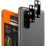 Spigen, 2 Stück, Kamera Schutzglas kompatibel mit Samsung Galaxy S20, Schwarz, Hüllenfreundlich, Anti-Kratzer…
