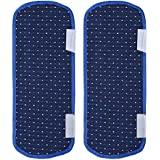 Yellow Weaves Multi-Purpose Handle Cover For Refrigerator,Car/Oven - 14 X 6 Inches (Pack Of 2)- Blue