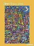 James Rizzi 2019 - Kunstkalender 2019, Posterkalender, Pop Art, Wandkalender 2019  -  48 x 64 cm