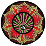 Parche plancha de planchar Iron on parches bordados India Nepal Yoga Tibet