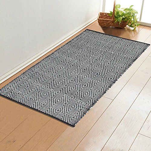Saral Home Cotton Soft Multi Purpose Floor Rugs -70x145 cm