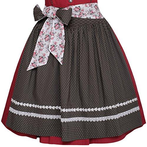 Mini Dirndl Beatrix in Rot von Krüger Dirndl Rot