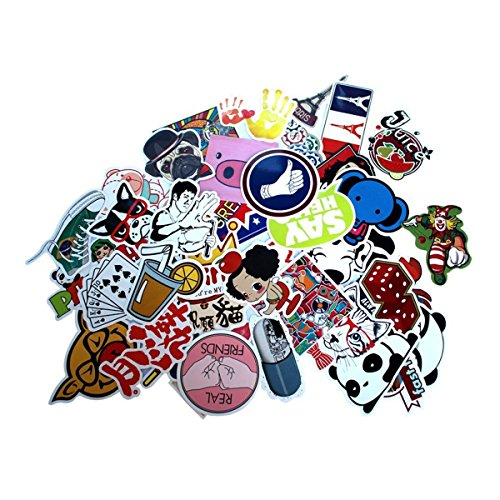 WINOMO 100stk Laptop Motorrad Skateboard Gepäck Graffiti Autoaufkleber