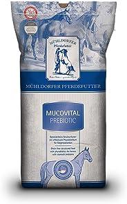 Mühldorfer Mucovital prebiotic, 20 kg, Pferdefutter ohne Getreidestärke, vollwertig, bei Magenerkrankungen, entzündungsregul
