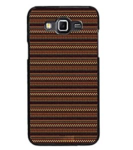 PrintDhaba Tribal pattern D-1875 Back Case Cover for SAMSUNG GALAXY GRAND 3 (Multi-Coloured)
