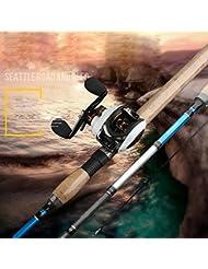 DB 1.8m2.1m 2.4m 2.7m Mh Poignée de Pistolet Roue à Eau Lure Set Carbone Lure Pole