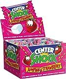 Center Shock Jumping Strawberry I 3 Boxen mit jeweils 400 g Kaugummis I Erdbeer-Geschmack extra-sauer